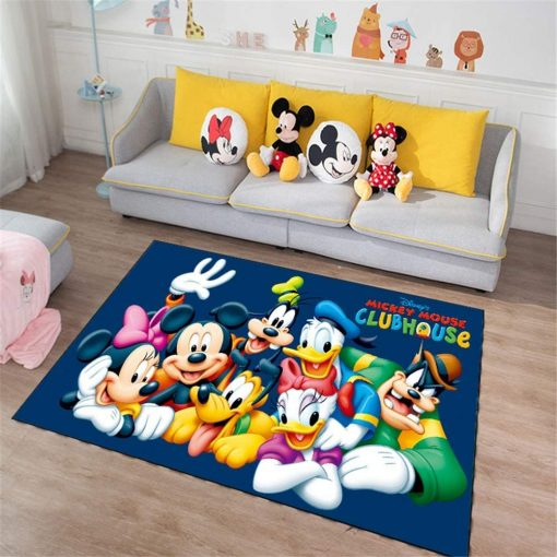 Mickey Mouse And Friends Clubhouse Rug Carpet