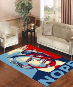 Trump President Nope Rug Carpet