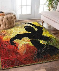 Two Bernese Mountain Dog Rug