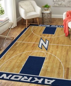 Akron Zips NCAA Basketball Limited Edition Rug Carpet