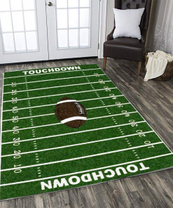 American Football Field Limited Edition Rug Carpet