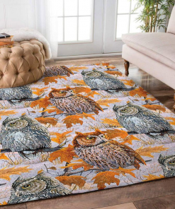 Awesome Owl Rectangle Limited Edition Rug Carpet