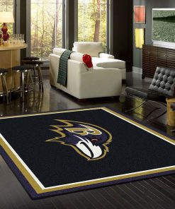 Baltimore Ravens Area Limited Edition Rug Carpet