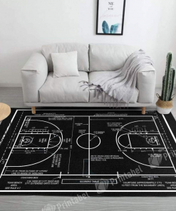 Basketball Coach Limited Edition Rug Carpet