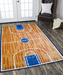 Basketball Court Limited Edition Rug Carpet