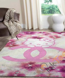 Chanel Hello Kitty Area Limited Edition Rug Carpet