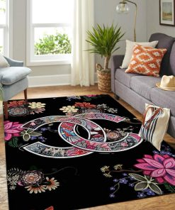 Chanel Living Room Area Limited Edition Rug Carpet