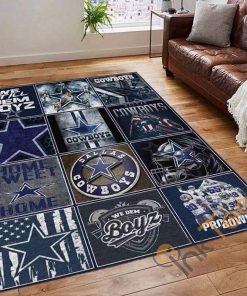 Dallas Cowboys Fan NFL Football Team Nice Gift Area Limited Edition Rug Carpet