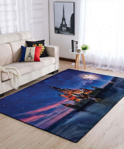 Disney Castle Area Limited Edition Rug Carpet