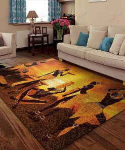 African American In The Sunset Rug