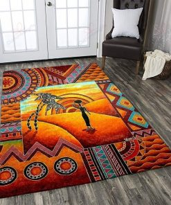 African In The Desert Rug