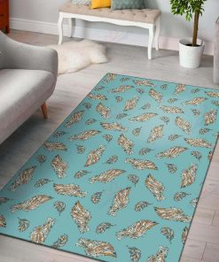 Angel Wings Green Rug