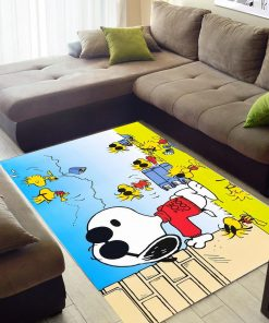 Snoopy And Woodstock Play